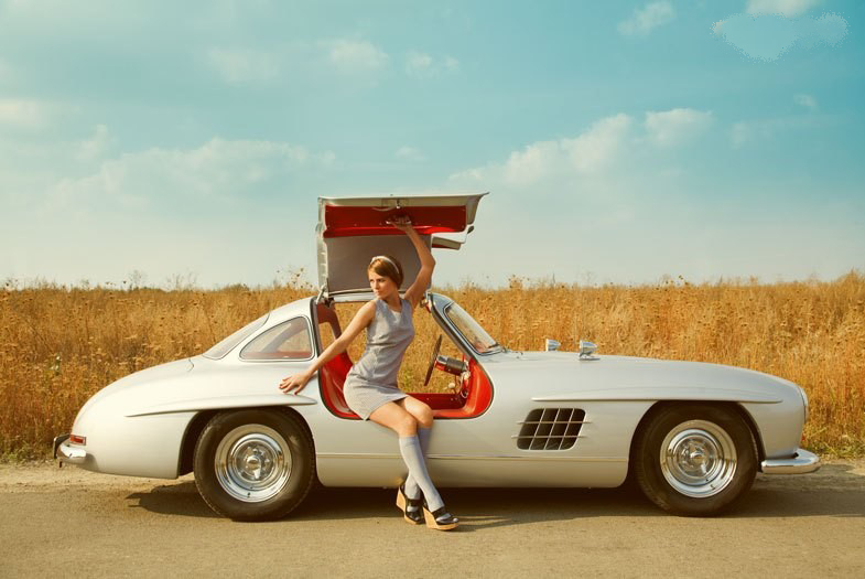 coolerthanbefore :     Mercedes Benz 300SL Gullwing