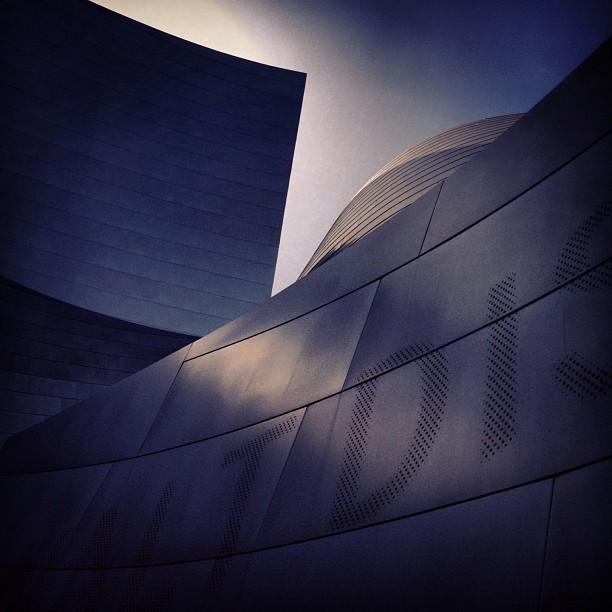 Ghery LA version (Taken with  Instagram  at Walt Disney Concert Hall)