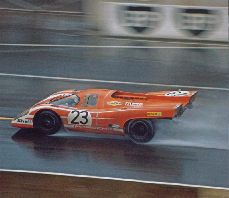 hellformotors :     Porsche 917 at Le Mans 1970
