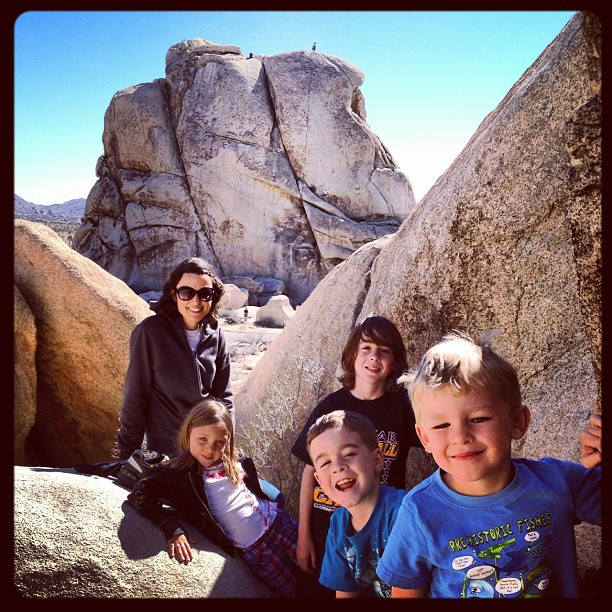 Family of explorers (Taken with  Instagram  at Joshua Tree)