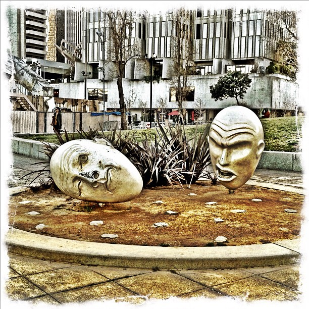 I love this sculpture (Taken with  instagram )