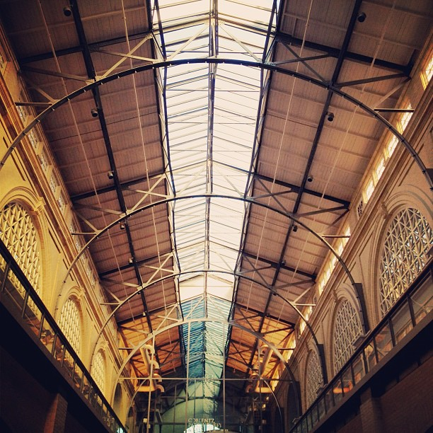 Ferry Building skylights  (Taken with  Instagram  at Ferry Building)