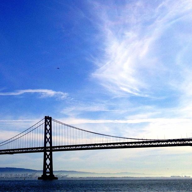 Bay Bridge (Taken with instagram)