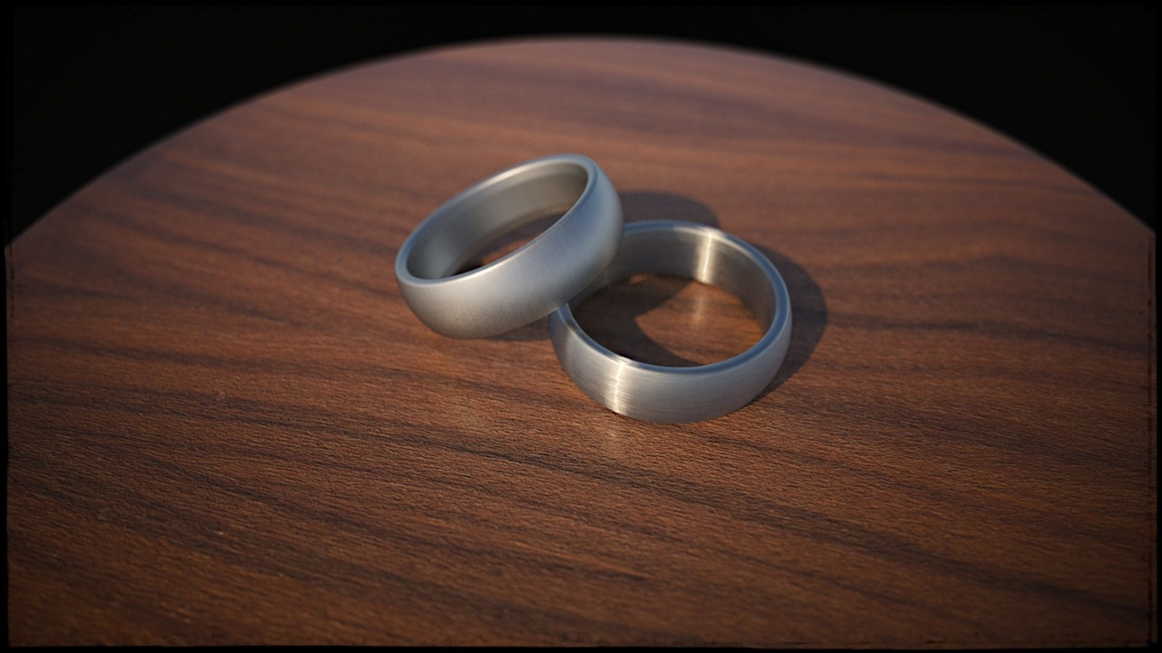 I've been working on learning depth-of-field rendering in Maxwell. I threw in learning how to make some convincing brushed metal while I was at it.