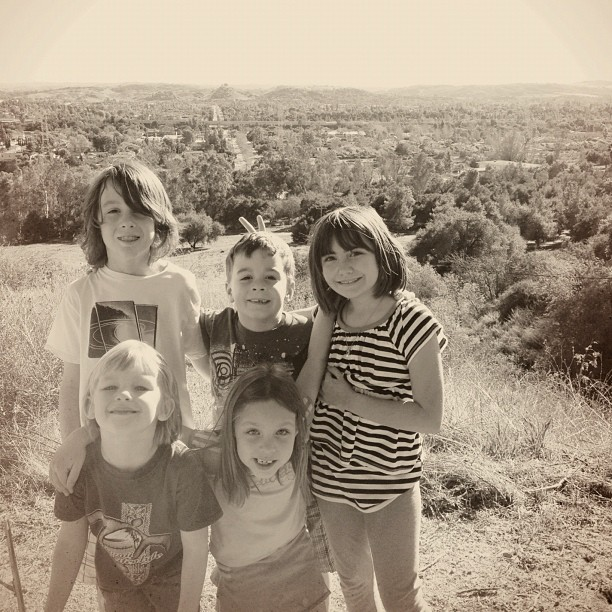 Hiking with the kids (Taken with  Instagram  at San Dimas Canyon Park)