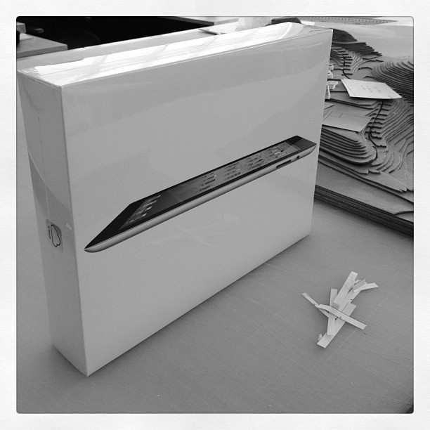 New iPads for Christmas from @hmcarchitects (Taken with instagram)