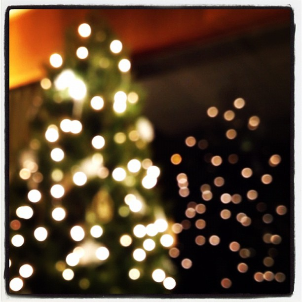 Decorating the tree! (Taken with  instagram )