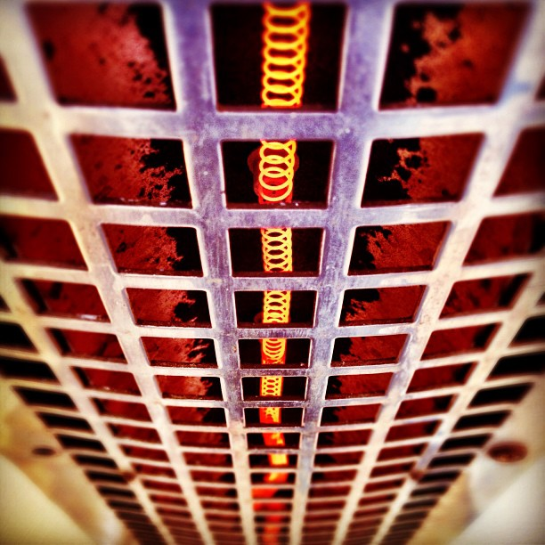 Hot coil (Taken with  instagram )