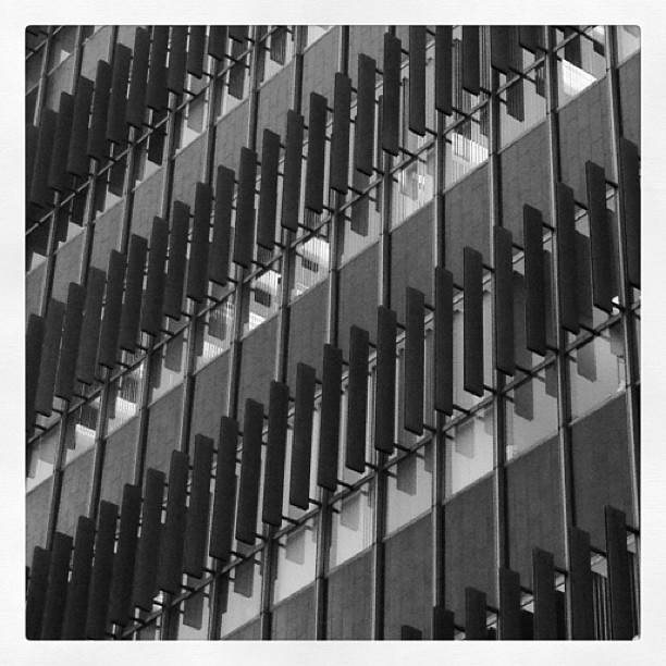 Façade at the Hall of Records. Rigorous.  (Taken with  Instagram  at Los Angeles County Hall of Records)