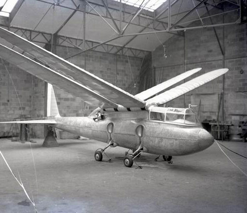 "Dragonfly    xplanes :     the the Riout 102T ""Alérion"", 1937 (via  secretprojects )"