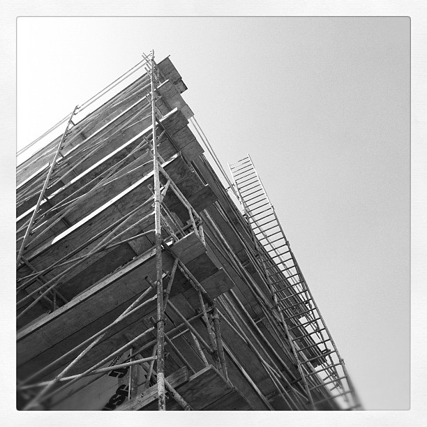 Scaffold (Taken with  instagram )