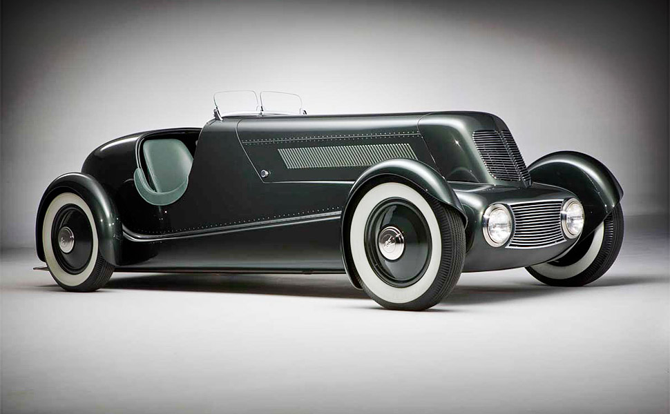 Edsel Ford's 1934 Model 40 Speedster