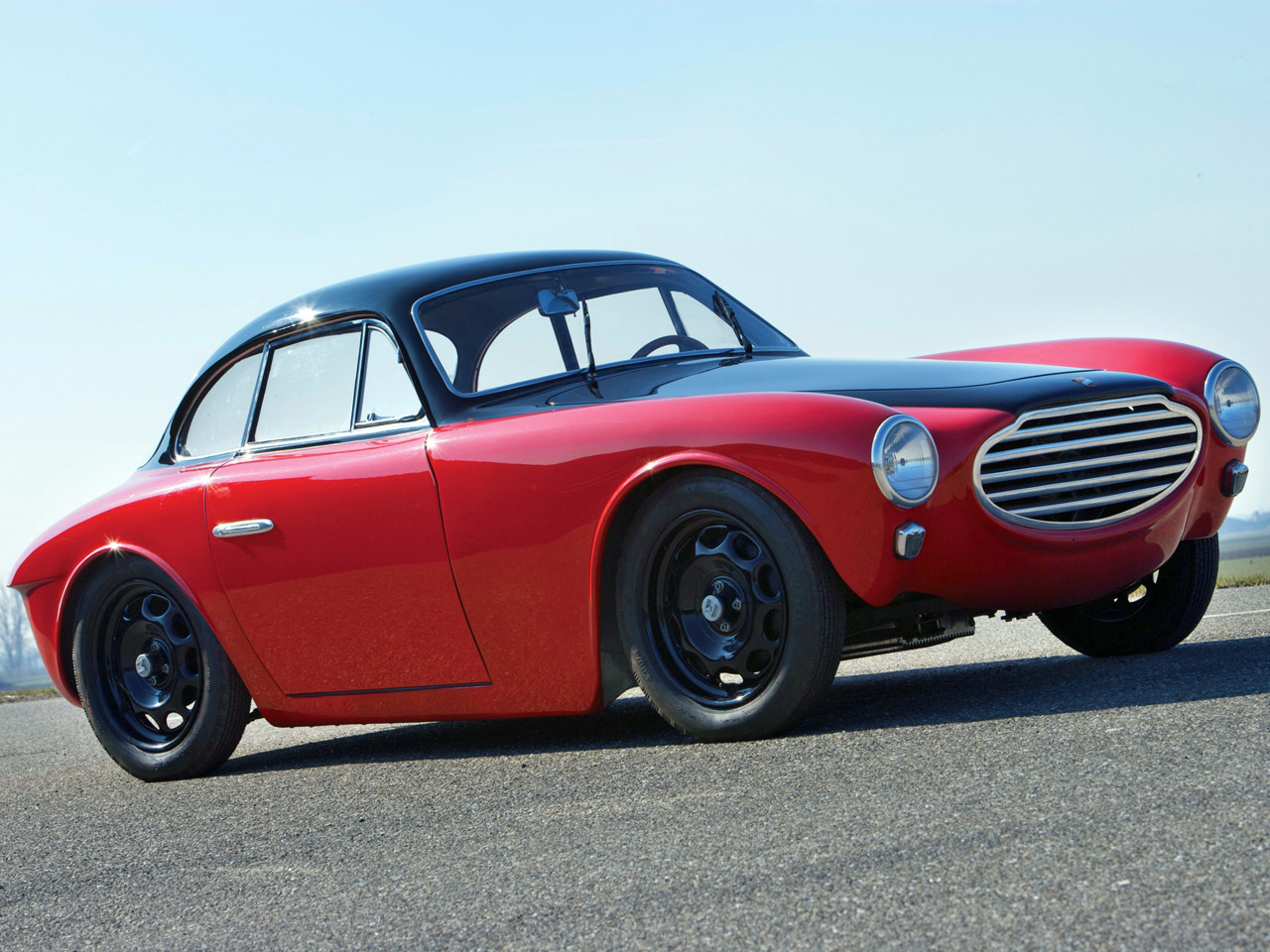 coolerthanbefore :     1953 Moretti 750 Gran Sport Berlinetta by Michelotti