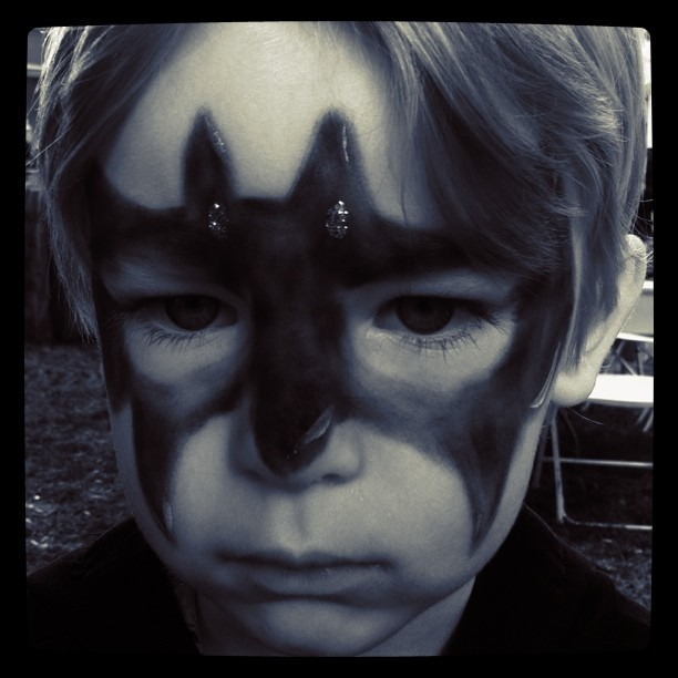 Serious Batman (Taken with instagram)