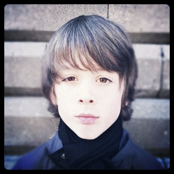 Brit pop boy (Taken with instagram)