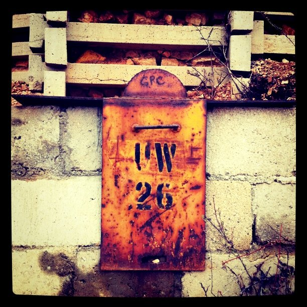 Marker (Taken with instagram)