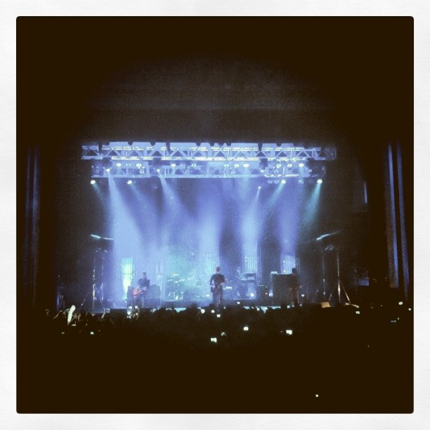 Interpol (Taken with instagram at Fox Theater Pomona)