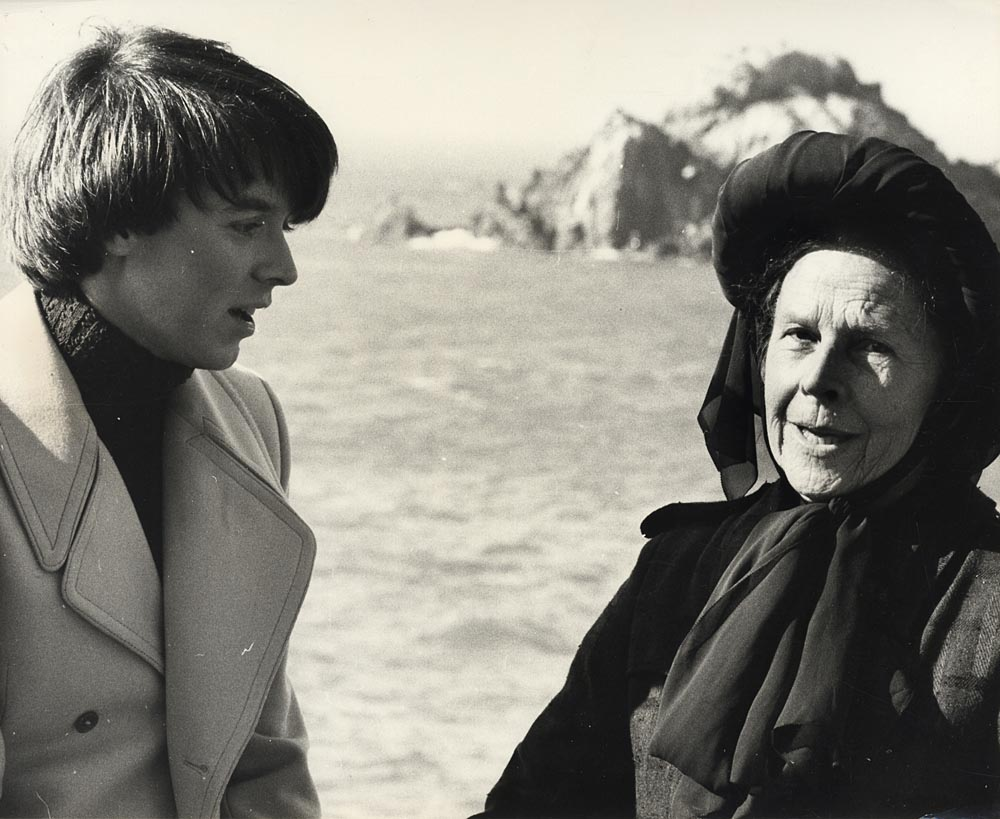 A great film. merlin: retrogasm: Harold and Maude, 1971 If you visit SF, come allllll the way out to my side of town and check out Sutro Baths. It's like the ruins of a city leveled by a volcano, and it's where Bud and Ruth are standing in this swell photo. Helluva movie, this.