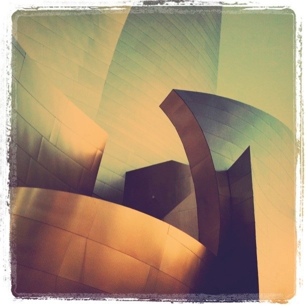 Walt Disney Concert Hall (Taken with instagram)