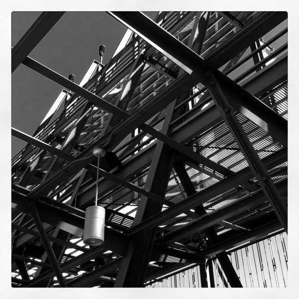 LA Zoo entry structure (Taken with  instagram )