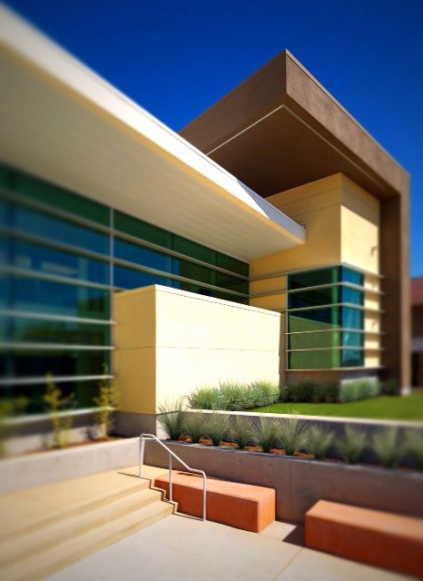 Loves me some tilt shift. Fontana Superior Court.