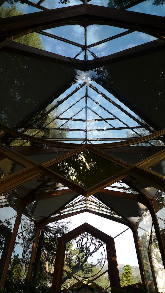 Wayfarer's Chapel, by Lloyd Wright, Palos Verdes CA