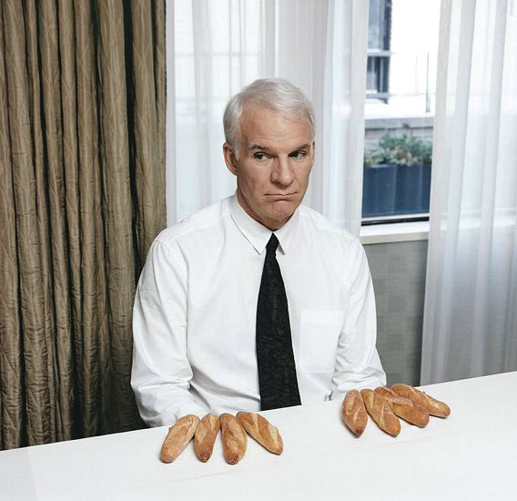 Steve Martin, by Chris Buck.
