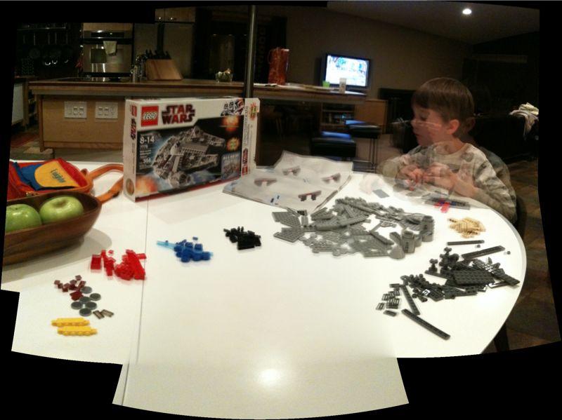 Millenium Falcon Legos!