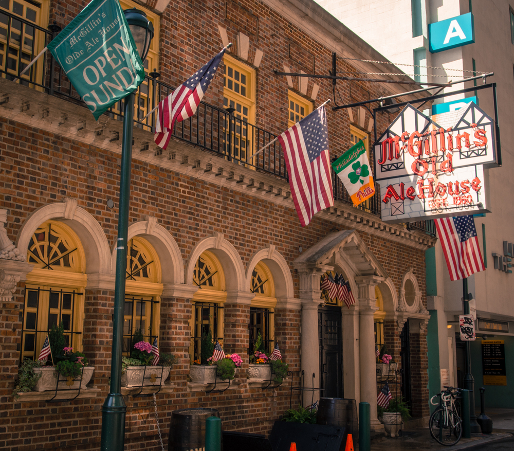 The oldest bar in the City of Philadelphia - McGillin's