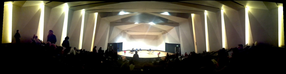 Inside the NSI auditorium