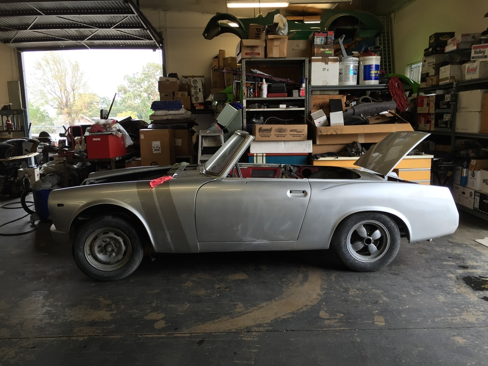 My '69 Datsun Roadster project