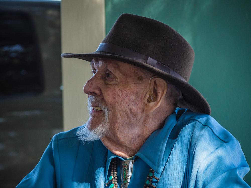 Granman in Shoshone