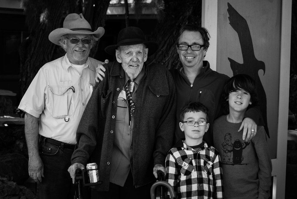 Four generations of Troxel's