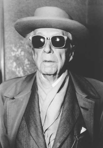 Frank Lloyd Wright the Rock Star