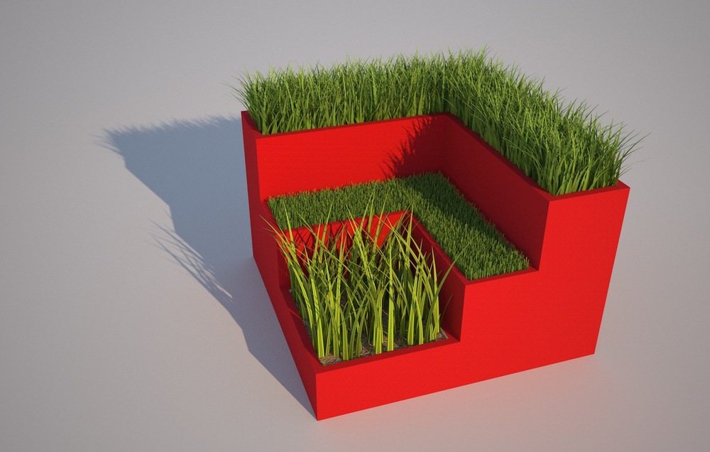 Get grass at Method - Realistic 3d grass and plant rendering presets for designers doing architecture and landscaping projects using SketchUp, FormZ or Bonzai3d with Maxwell Render.