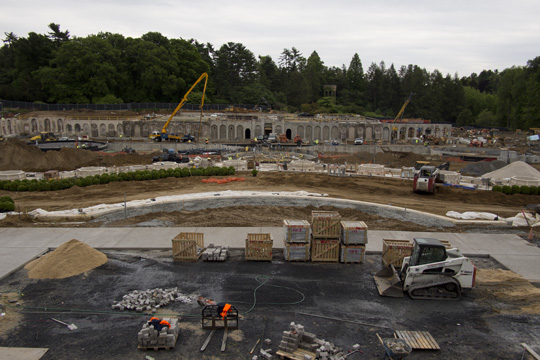 The $90m Longwood Gardens fountain revitalization project (above ground)