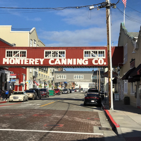 The unique architecture of Monterey, California - Photo credit, Neal Pann