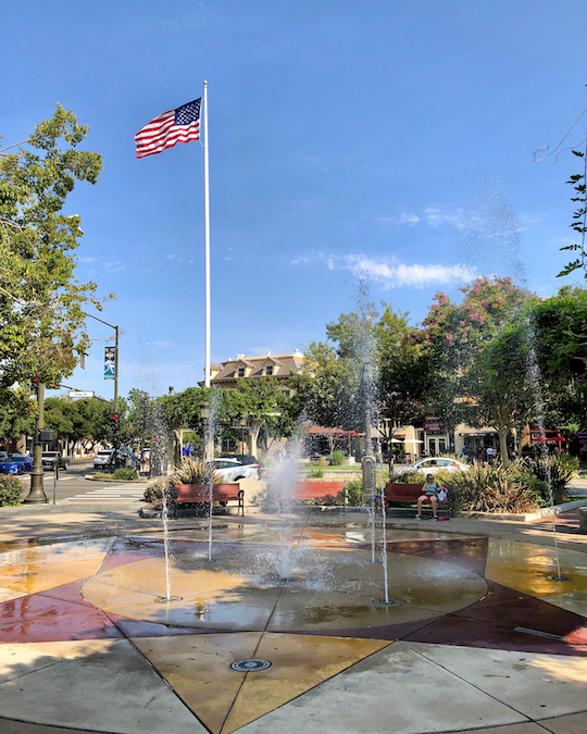 Lizzie Fountain Park, Livermore, CA - Photo by Neal Pann