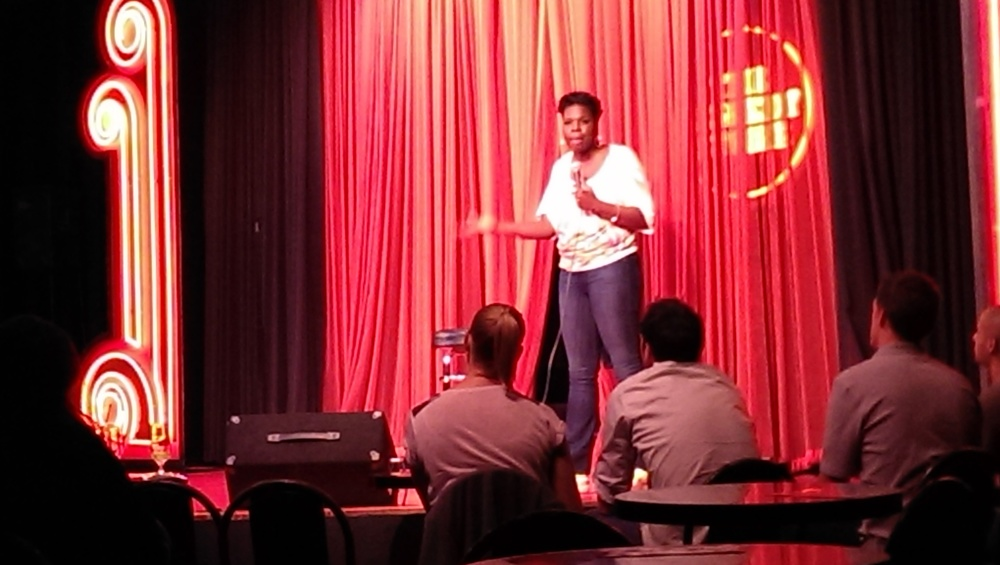 Leslie Jones in the Main Room Friday