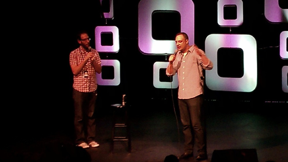 Ari Shaffir & Kurt Metzger at Moontower Comedy Festival 2013