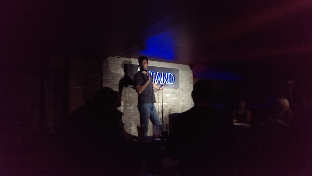 Michael Kosta hosting Frantic Mondays at The Stand