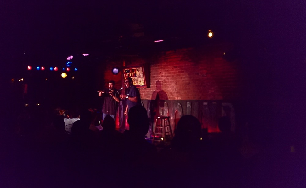 Dave Attell and Keith Robinson