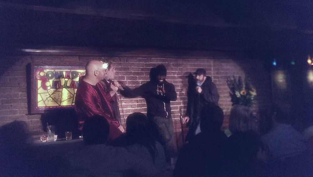 Jeff Ross, Tony Hinchcliffe, Wil Sylvince, Dave Attell