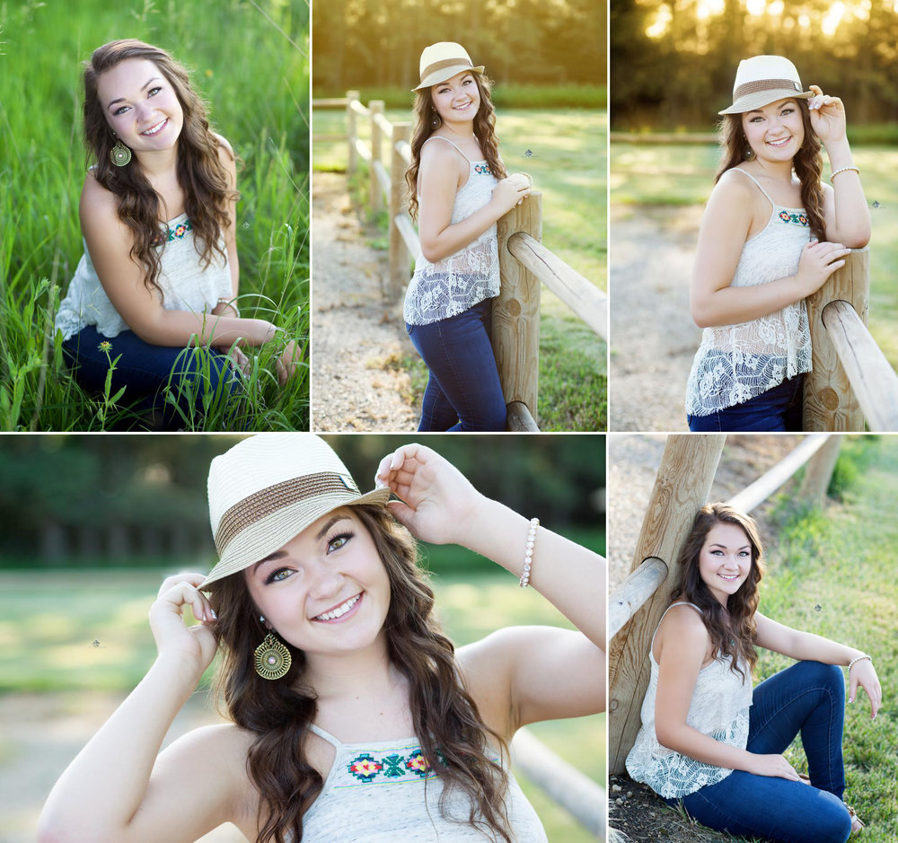 Country Senior Images by Katie Swatek Photography | Senior Photos with a Fedora by Katie Swatek Photography