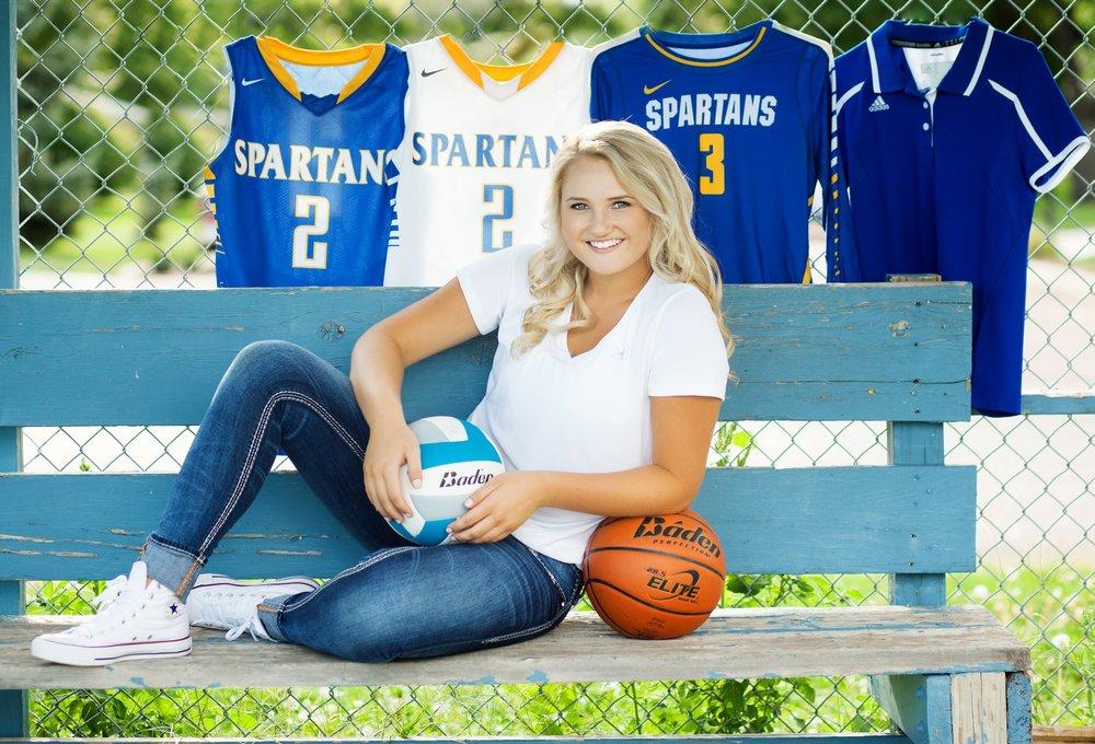 Senior Sports Image by Katie Swatek Photography | Jersey Sports Image by Katie Swatek Photography