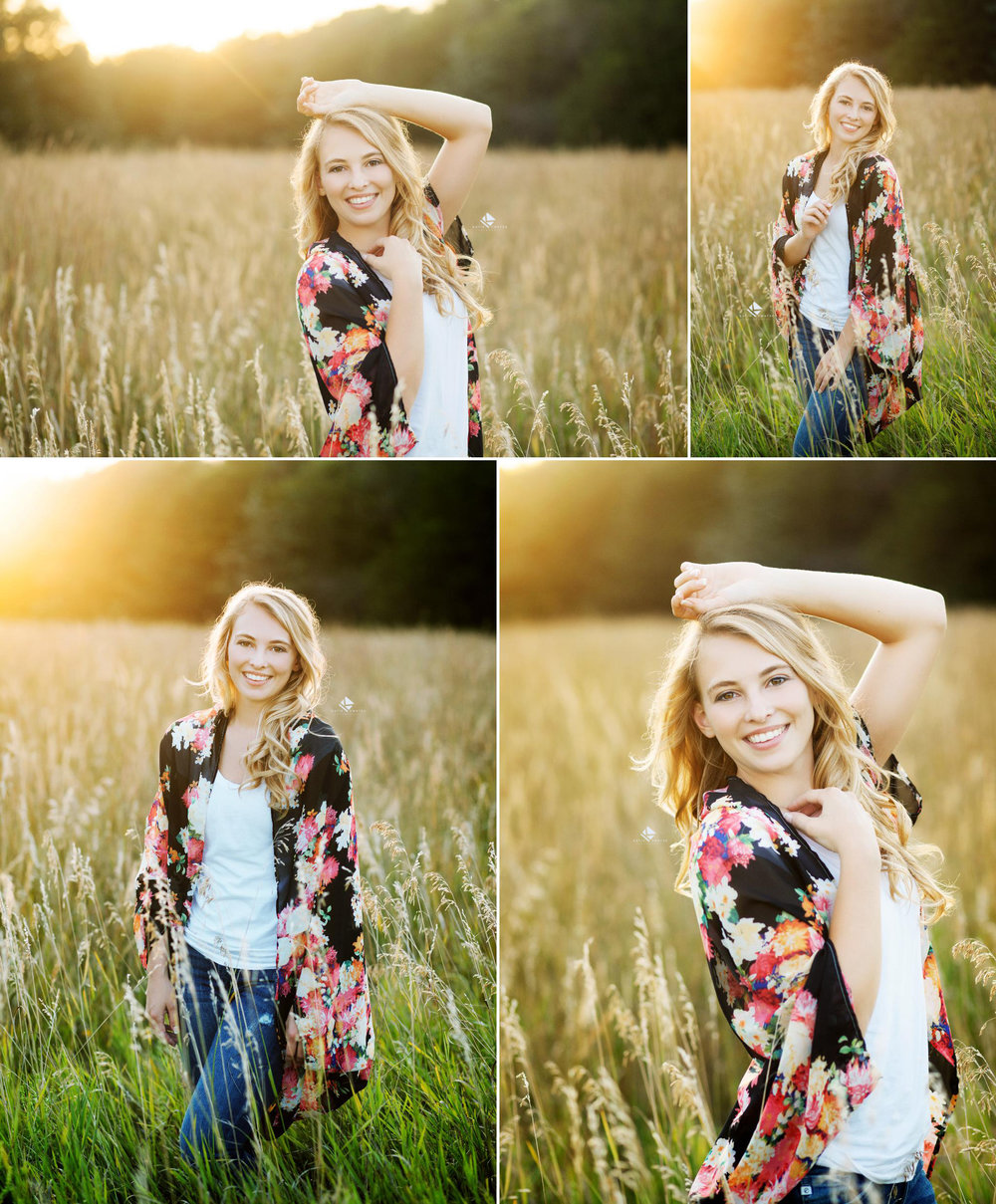 Country Senior Images by Katie Swatek Photography | Kimono Senior Images by Katie Swatek Photography