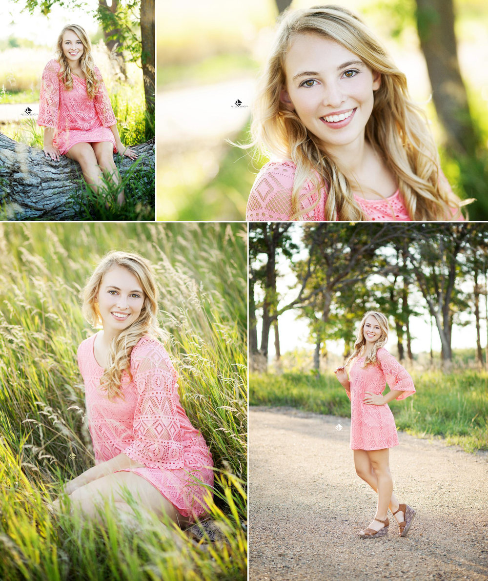 Country Senior Images by Katie Swatek Photography | Lace Dress Senior Images by Katie Swatek Photography