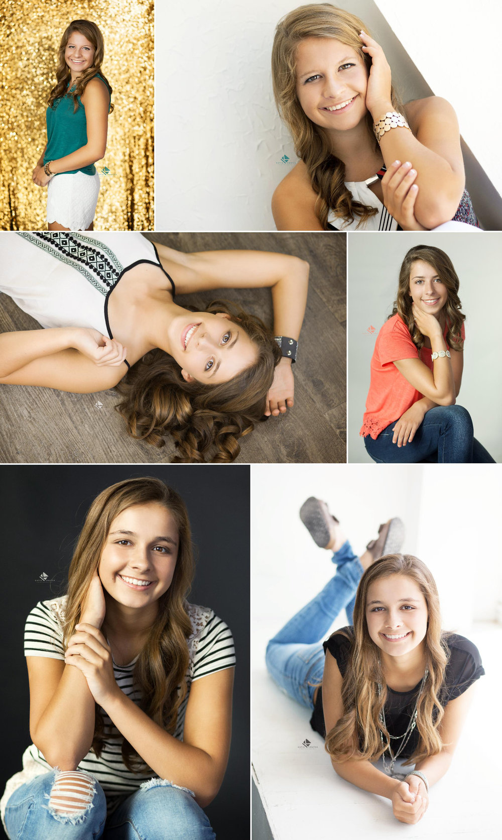 Studio Senior Images by Katie Swatek Photography