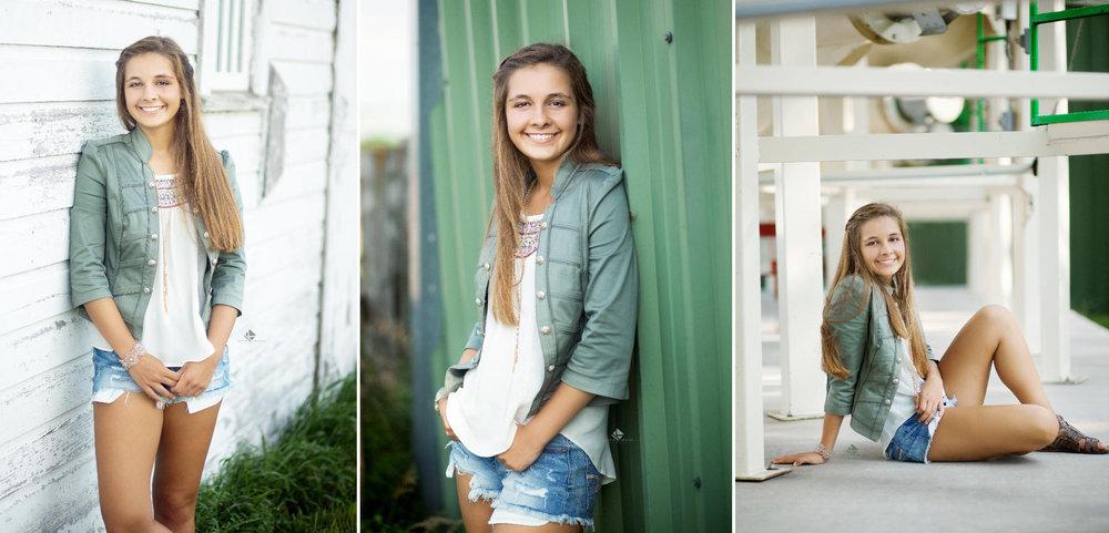 Country Senior Images by Katie Swatek Photography | White Barn Senior Images by Katie Swatek Photography