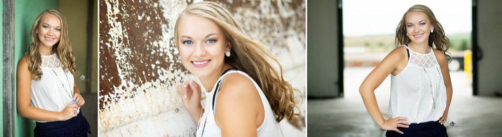 Country Senior Images by Katie Swatek Photography | White Lace Top Senior Images by Katie Swatek Photography